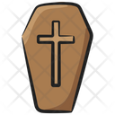 Coffin Funeral Casket Icon