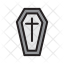 Halloween Coffin Scary Icon