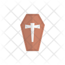 Coffin Dead Grave Icon