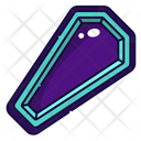 Coffin Halloween Death Icon
