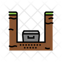 Coffin Burial Pit Icon