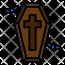 Coffin Spooky Terror Icon