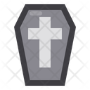 Coffin Horror Scary Icon