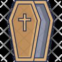 Coffin Wood Death Icon
