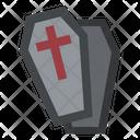 Coffin Death Horror Icon