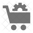 Cog In Cart Icon