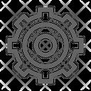 Cog Mechanism Gear Icon