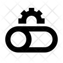 Cog Network Setting Server Preferences Icon