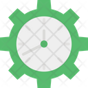 Cog Schedule Settings Icon