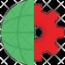 Cog Global Progress Global Settings Icon