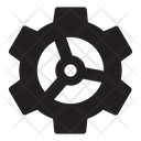Complex Cog Icon