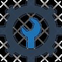 Cog Option Repair Tools Icon