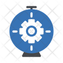 Cogwheel Gear Setting Icon