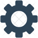 Cog Wheel Cog Setthing Icon