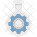 Cog With Flask Icon