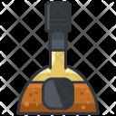 Cognac Alcohol Bottle Icon