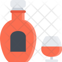 Cognac Alcohol Bar Icon