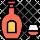 Cognac Party Club Icon
