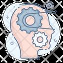 Mind Thinking Mind Setting Brain Thoughts Icon