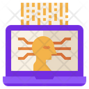 Support Assistant Robot Icon