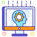 Cognition Brainstorming Creative Thinking Icon