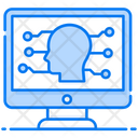 Cognitive Computing Analytical Thinking Artificial Intelligence Icon
