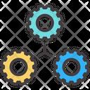 Cogwheel Gear Industry Icon