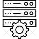 Cogwheel Data Dedicated Icon