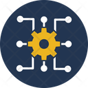 Cogwheel Management Performance Management Icon