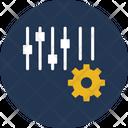 Cogwheel Configuration Customized Icon