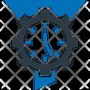 Cogwheel Data Management Data Processing Icon