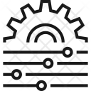 Cogwheel Configuration Menu Icon