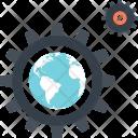 Cogwheel Development Optimization Icon
