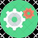 Cogwheel Setting Gear Icon