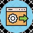 Cogwheel Setting Web Icon
