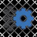 Cogwheel Gear Engineering Icon