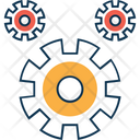Cogwheel Processing Icon