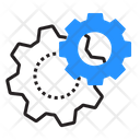 Cogwheels Gears Settings Icon