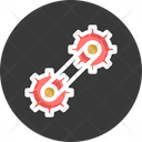 Cogwheels Engineering Gear Wheels Icon