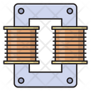 Coil Energy Capacitor Icon