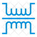 Coil Law Circuit Icon