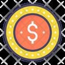 Dollar Penny Dime Icon