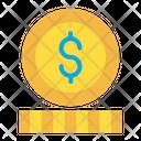 Dollar Coin Money Money Coin Icon