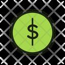 Coin Dollar Coin Money Icon