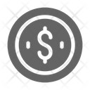 Coin Penny Dollar Icon