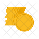 Coin Stack Finance Icon