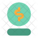 Coin Online Shopping Icon