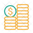Coin Dollar Currency Icon