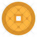 Coin Chinese Cultures Icon