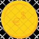 Coin Gold Dollar Icon